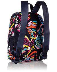 Vera Bradley Blue Signature Cotton Hadley Backpack