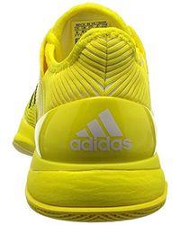 Adizero Ubersonic 3 W, Zapatillas de Tenis para Mujer Adidas de color Yellow