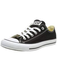 Chuck Taylor All Star Ox Sneakers (4 6 di Converse in Black da Uomo