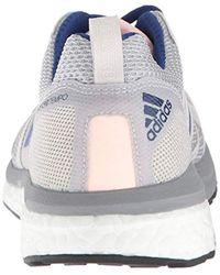 Adizero Tempo 9 W di Adidas in Blue