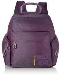 Md20 Pop Tracolla di Mandarina Duck in Purple