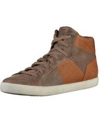 Geox U SMART A Hohe Sneaker in Brown für Herren