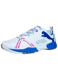 PUMA White Vindicate S Indoor Sports Trainers / Shoes for men