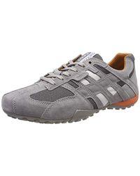 Geox Herren Uomo Snake K Sneaker in Gray für Herren