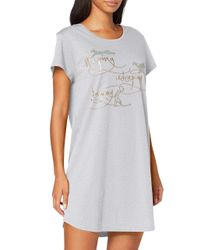 Triumph Gray Nightdresses Ndk 01 Nightie