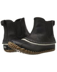 Sorel Black Out N About Chelsea-w Cold Weather Boot