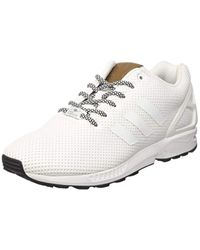 ZX Flux, Baskets Basses Homme Adidas pour homme en coloris White