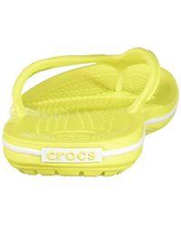 Crocs™ Green Unisex-Erwachsene Crocband Flip Pantoffeln