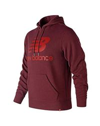 Sweat-Shirt à Capuche New Balance pour homme en coloris Red