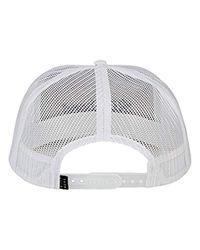 Billabong White Flatwall Trucker Hat for men