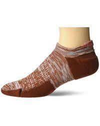Nike Brown Unisex Spark Cushion No Show Socks