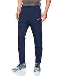 Nike Blue M Nk Dry Acdmy Wpz Trouser for men