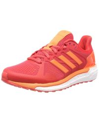 Supernova ST Running Shoes Real Coral/Hi Res Orange/Hi Res Red Adidas