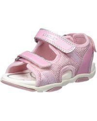 Geox Pink Baby Mädchen B AGASIM Girl A Sandalen