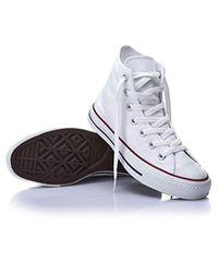 Chuck Taylor all Star Donna Barely Fuchsia Rosa Scamosciato Ox Sneaker di Converse in White