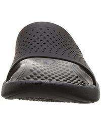 Crocs™ - Black Unisex Literide Slide for Men - Lyst