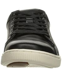 Steve Madden Black Ringwald Fashion Sneaker for men