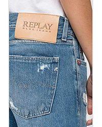 WA405.108662R/009-W Pantaloni di Replay in Blue