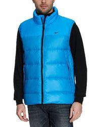 Anorak sans Manches Basic Down Nike pour homme en coloris Blue