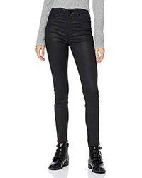 Super Highrise Jean Skinny Guess en coloris Black