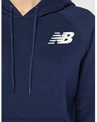 Core Fleece di New Balance in Blue