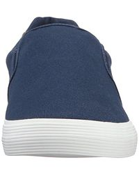 Lacoste - Blue Jouer Slip-on Cam Fashion Sneaker for Men - Lyst