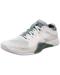 Crazytrain Elite M, Chaussures de Fitness Adidas pour homme en coloris White