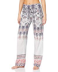 Favourites Trend 3 Pantaloni Pigiama di Calida in White