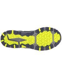 New Balance Mt410v5 Cushioning Trail Running Shoe, schwarz/Silber in Blue für Herren