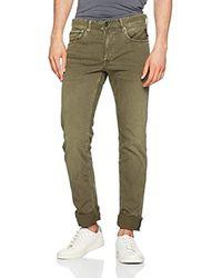 Grover, Jeans Dritto Uomo, Marrone (Mud 50), W33/L32 (Taglia Produttore: 33) di Replay in Green da Uomo