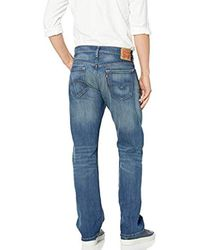 Levi's Blue 569 Loose Straight Fit Jean for men