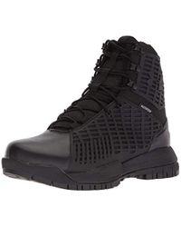 Under Armour Black Stryker Waterproof Sneaker