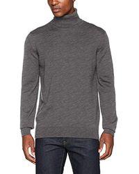 Pull - Lacoste pour homme en coloris Gray