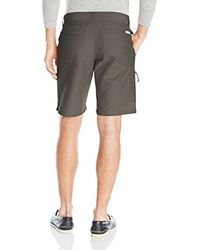 Columbia Gray Twisted Cliff Short for men