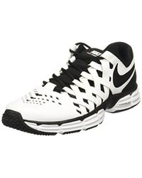 Nike White Lunar Fingertrap Cross Trainer for men
