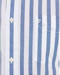 Camicia Uomo di Wrangler in Blue da Uomo