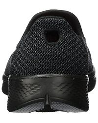 Skechers Black Performance Go Walk 4 Majestic Walking Shoe