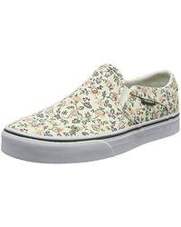 WM Asher, Sneakers Basses Femme Vans - Lyst