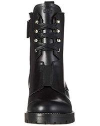 HUGO - Black Mai Ankle Boots - Lyst