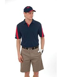 Golf Scottsdale Polo Shirt di Fila in Black da Uomo