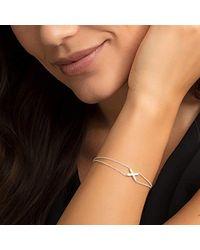 Thomas Sabo Metallic Silver Charm Bracelet