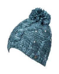 Bonnet - - One Size Roxy en coloris Blue