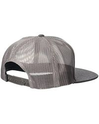 51c90689af72f6 Lyst - Rip Curl Patch Trucker Mesh Hat, in Gray for Men