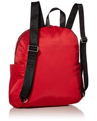 Diver Nylon Backpack Nautica en coloris Red
