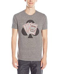 Lucky Brand - Gray Ace Beer Tee for Men - Lyst