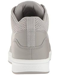 Skechers Gray Downtown-fly High Fashion Sneaker