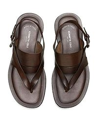 Kenneth Cole Brown Reel-ist Sandal for men