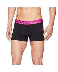 Trunk Boxer-Mutande di Calvin Klein in Black da Uomo