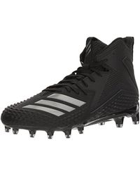 Adidas Freak X Carbon Mid Football Shoe, Black/black/black, 9.5 M Us for men