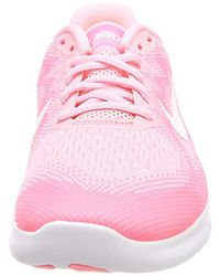 Nike Pink Mädchen Free Rn 2017 Laufschuhe